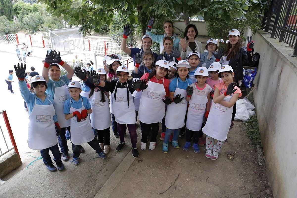 Nestle Gönüllüleri Okulda